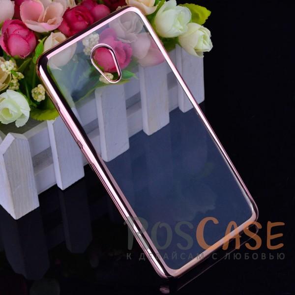 Прозрачный силиконовый чехол для Meizu M5 Note с глянцевой окантовкой (Розовый)Описание:совместим с Meizu M5 Note;глянцевая окантовка;материал - TPU;тип - накладка.<br><br>Тип: Чехол<br>Бренд: Epik<br>Материал: TPU