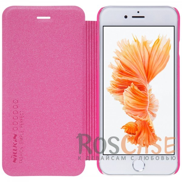 "Изображение Розовый Nillkin Sparkle | Чехол-книжка для Apple iPhone 7 plus / 8 plus (5.5"")"