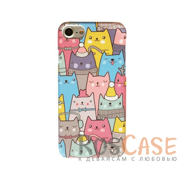"Фото Пластиковая накладка Cats Series для Apple iPhone 7 / 8 (4.7"")"