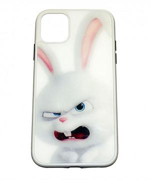 Силиконовый чехол с пластиковой вставкой  для iPhone 11