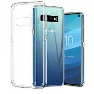 Clear Original | Прозрачный TPU чехол 2мм для Samsung Galaxy S10
