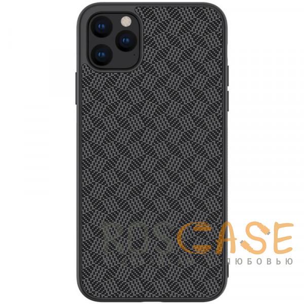 Фото Черный Nillkin Synthetic Fiber | Чехол из синтетического волокна для iPhone 11 Pro