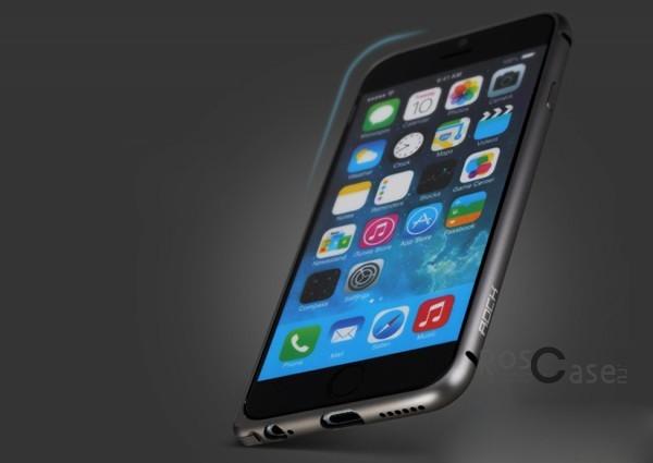 Металлический бампер Rock Arc Slim Guard для Apple iPhone 6/6s (4.7) (Серый / Grey)Описание:производитель  -  Rock;совместимость  -  Apple iPhone 6/6s (4.7);материал  -  металл;тип  -  бампер.&amp;nbsp;Особенности:имеет все нужные вырезы;тонкий дизайн;не деформируется;надежное крепление;защита боковых кнопок.<br><br>Тип: Бампер<br>Бренд: ROCK