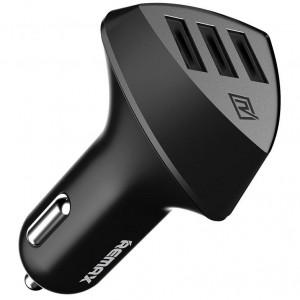 REMAX RCC304 Aliens | Автомобильное зарядное устройство на 3 USB (4.2A) для Samsung Galaxy J7 Neo (J701F)