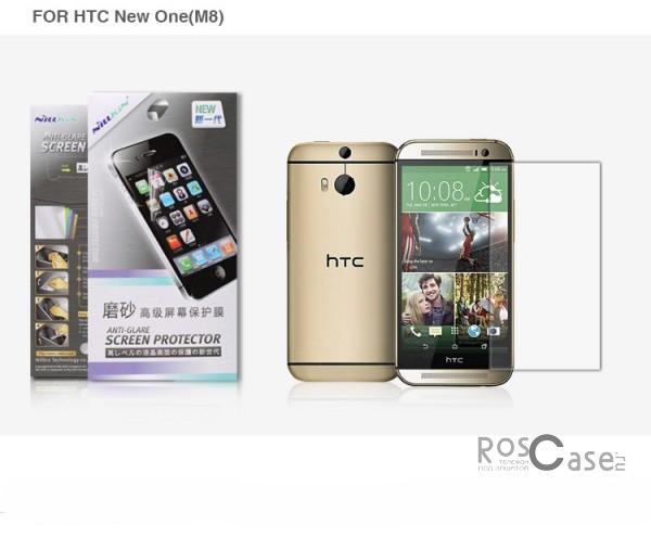 фото защитной пленки Nillkin для HTC New One / M8