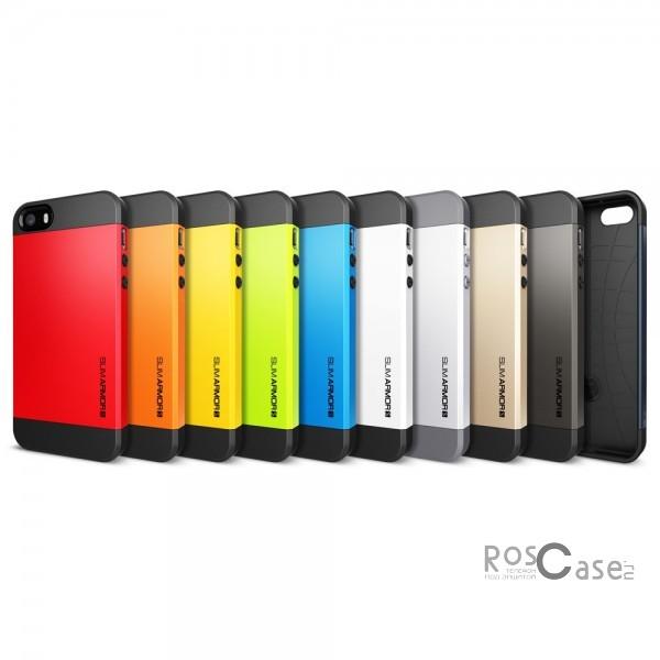 фото пластиковой накладки SGP Slim Armor S Series для Apple iPhone 5/5S/5SE