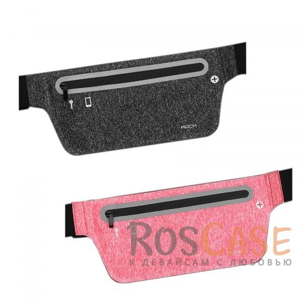 Спортивная сумка на пояс Rock (Slim)Описание:производитель  - &amp;nbsp;Rock;совместимость  -  смартфоны с диагональю&amp;nbsp;до 6-ти дюймов;материал  -  лайкра;форма  -  сумка на пояс;регулируемый ремень - 50-140 см;водонепроницаемая молния;размеры сумки - 27*11,2 см;предусмотрено отверстие для провода наушников;светоотражающая полоса;водонепроницаемый материал.<br><br>Тип: Чехол<br>Бренд: ROCK<br>Материал: Натуральная кожа