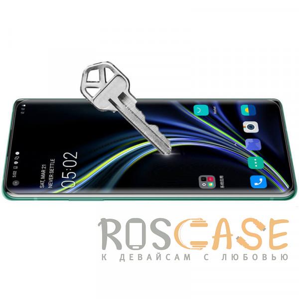 Фотография Черное Nillkin 3D DS+ Max | Защитное стекло полноэкранное с полной проклейкой для OnePlus 8