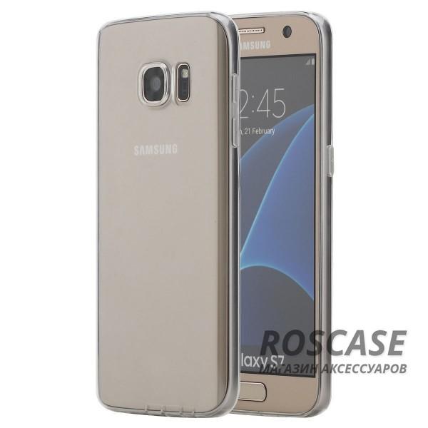 TPU чехол ROCK Ultrathin Slim Jacket для Samsung G930F Galaxy S7 (Бесцветный / Transparent)Описание:разработчик  - &amp;nbsp;Rock;разработан с учетом особенностей Samsung G930F Galaxy S7;материал  -  термополиуретан;тип  -  накладка.&amp;nbsp;Особенности:соответствие всех вырезов функциям;прозрачный;не трескается;надежная система фиксации;на нем не видны следы от пальцевустойчив к пожелтению.<br><br>Тип: Чехол<br>Бренд: ROCK<br>Материал: TPU