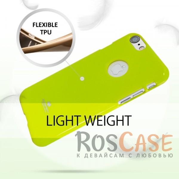 "Фото Лайм Mercury Jelly Pearl Color | Яркий силиконовый чехол для для Apple iPhone 7 / 8 (4.7"")"