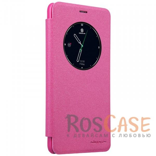 Фотография Розовый Nillkin Sparkle | Чехол-книжка с функцией Sleep Mode для Meizu M5 Note