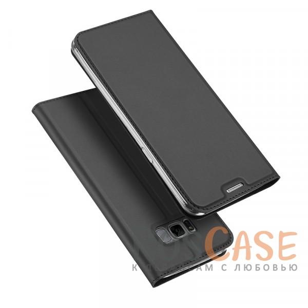 Классический чехол книжка с функцией подставки и картхолдером для Samsung G955 Galaxy S8 Plus (Черный)Описание:совместимость - Samsung G955 Galaxy S8 Plus;материалы - искусственная кожа, термополиуретан;тип - чехол-книжка;защита со всех сторон;функция подставки;функция Sleep Mode;внутреннее отделение для пластиковых карт;предусмотрены все функциональные вырезы.&amp;nbsp;&amp;nbsp;&amp;nbsp;<br><br>Тип: Чехол<br>Бренд: Epik<br>Материал: Искусственная кожа