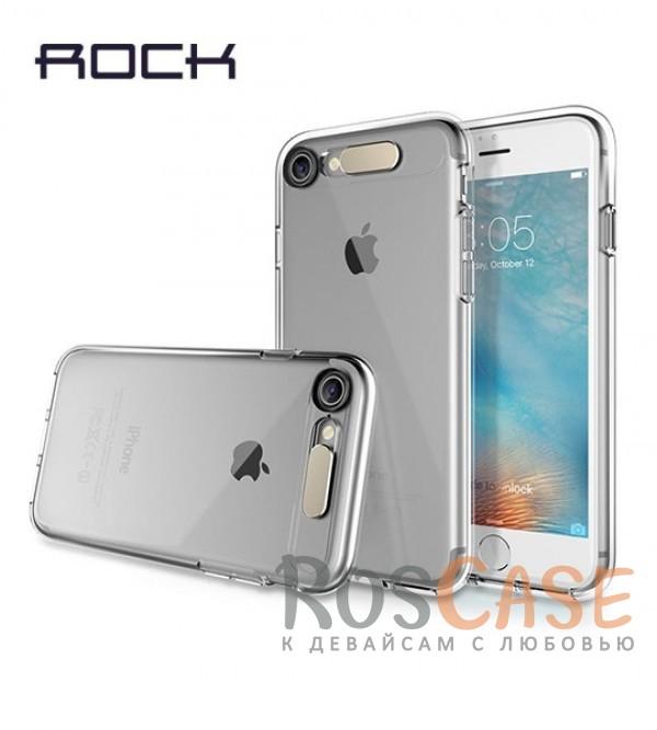 Светящийся TPU чехол ROCK Tube Series для Apple iPhone 7 (4.7) (Бесцветный / Transparent)Описание:производитель  - &amp;nbsp;Rock;совместим с Apple iPhone 7 (4.7);материал  -  термополиуретан;тип  -  накладка.&amp;nbsp;Особенности:светится во время входящих звонков;прочный;легко чистится;не увеличивает габариты;защита экрана благодаря выступающим бортикам;имеет все функциональные вырезы;защищает от царапин и ударов.<br><br>Тип: Чехол<br>Бренд: ROCK<br>Материал: TPU