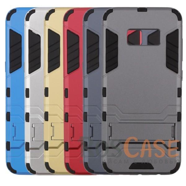 Ударопрочный чехол-подставка Transformer для Samsung G955 Galaxy S8 Plus с мощной защитой корпусаОписание:чехол разработан для Samsung G955 Galaxy S8 Plus;материалы - термополиуретан, поликарбонат;тип - накладка;функция подставки;защита от ударов;прочная конструкция;не скользит в руках.<br><br>Тип: Чехол<br>Бренд: Epik<br>Материал: Пластик