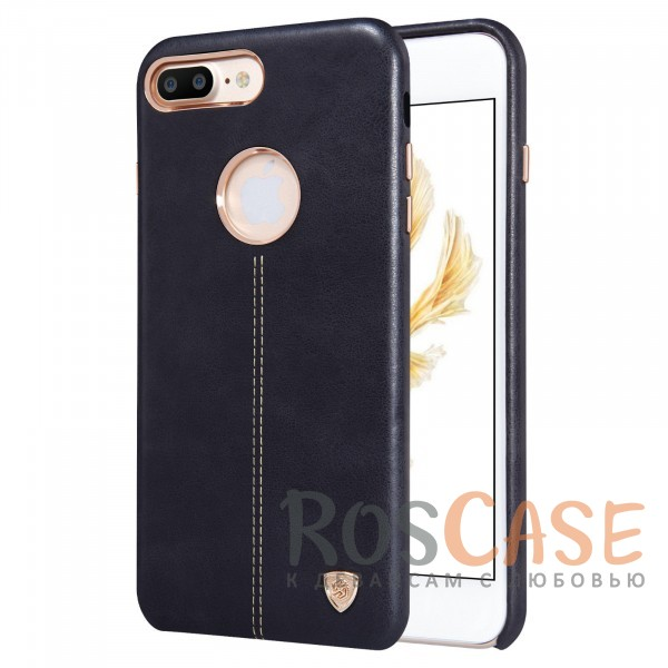 Кожаная накладка Nillkin Englon Series для Apple iPhone 7 plus (5.5) (Черный)Описание:произведено брендом&amp;nbsp;Nillkin;совместимость - Apple iPhone 7 plus (5.5);материал: натуральная кожа, микрофибра;тип: накладка.&amp;nbsp;Особенности:ультратонкий дизайн;фактурная поверхность;декоративная строчка;не скользит в руках;защищает заднюю панель и боковые грани.<br><br>Тип: Чехол<br>Бренд: Nillkin<br>Материал: Натуральная кожа