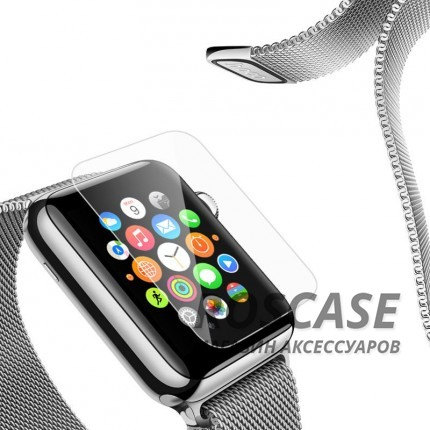 фото защитное стекло Ultra Tempered Glass 0.33mm (H+) для Apple watch 42mm