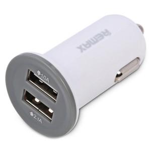 Remax RCC201 Mini | Автомобильное зарядное устройство на 2 USB (2.1A)