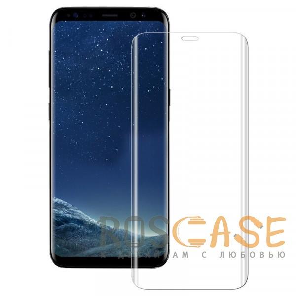 Фотография Прозрачное Объемное защитное 3D стекло для Samsung Galaxy S9 на весь экран