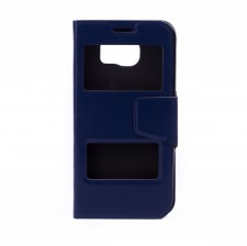 Чехол-книжка с окошками для Samsung Galaxy S6 G920F/G920D Duos