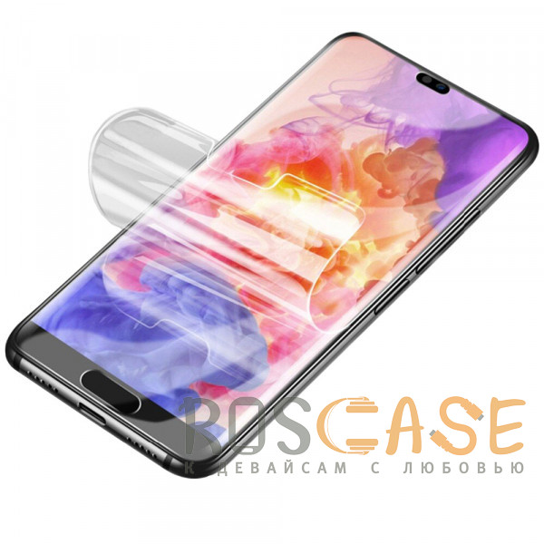 Фото Прозрачная Гидрогелевая защитная плёнка Rock для Huawei P20