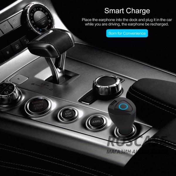Изображение Черный Rock Muca | Автокомплект громкой связи гарнитура Bluetooth + автомобильное зарядное устройство