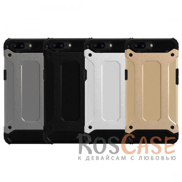 Противоударный двухкомпонентный чехол с дополнительной защитой углов для OnePlus 5Описание:ударопрочный чехол;спроектирован специально для OnePlus 5;защищает заднюю панель гаджета и боковые грани;приподнятые бортики защищают экран от царапин;конструкция из двух материалов - термополиуретана и поликарбоната;предусмотрены все необходимые вырезы;не скользит в руках;формат - накладка.<br><br>Тип: Чехол<br>Бренд: Epik<br>Материал: TPU