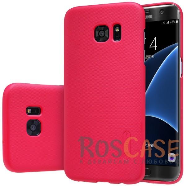 Чехол Nillkin Matte для Samsung G935F Galaxy S7 Edge (+ пленка) (Красный)Описание:производитель -&amp;nbsp;Nillkin;материал - поликарбонат;совместим с Samsung G935F Galaxy S7 Edge;тип - накладка.&amp;nbsp;Особенности:матовый;прочный;тонкий дизайн;не скользит в руках;не выцветает;пленка в комплекте.<br><br>Тип: Чехол<br>Бренд: Nillkin<br>Материал: Поликарбонат