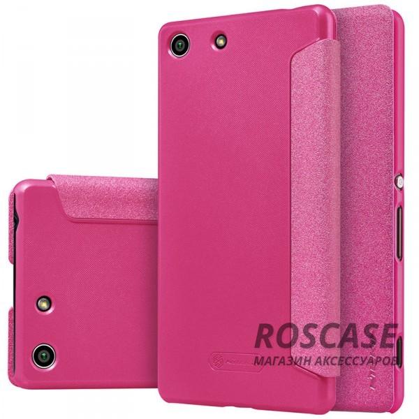 Кожаный чехол (книжка) Nillkin Sparkle Series для Sony Xperia M5 / Xperia M5 Dual (Розовый)Описание:бренд -&amp;nbsp;Nillkin;совместим с Sony Xperia M5 / Xperia M5 Dual;материал - кожзам;тип: книжка.&amp;nbsp;Особенности:тонкий дизайн;не скользит в руках;блестящая поверхность;защита со всех сторон.<br><br>Тип: Чехол<br>Бренд: Nillkin<br>Материал: Искусственная кожа