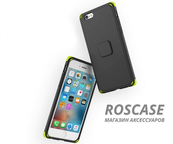 фотография Черный / Black TPU+PC чехол Rock MOC Kits Series для Apple iPhone 6/6s (4.7