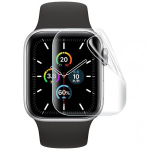 Гидрогелевая защитная плёнка Rock для Apple Watch SE (44 мм) 2 шт