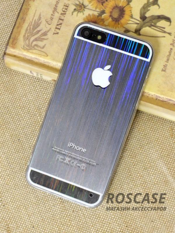 Ультратонкий TPU+PC чехол magic stripes для Apple iPhone 5/5S/SE (Белый)Описание:бренд  - &amp;nbsp;Epik;совместим с&amp;nbsp;Apple iPhone 5/5S/5SE;материалы  -  полиуретан, поликарбонат;тип  -  накладка.&amp;nbsp;Особенности:пластичный;имеет все необходимые вырезы;легко устанавливается;не увеличивает габариты;защищает от ударов и царапин;износостойкий.<br><br>Тип: Чехол<br>Бренд: Epik<br>Материал: TPU