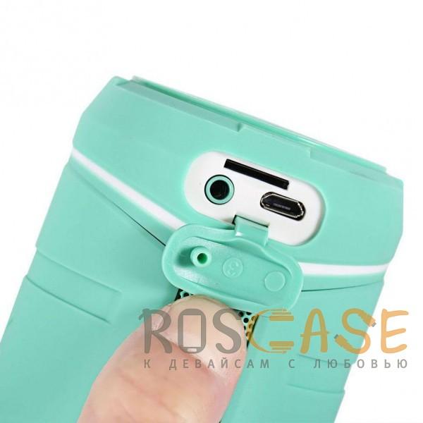 Изображение Голубой Remax RB-M10 | Портативная колонка (Bluetooth) с USB входом для флешки