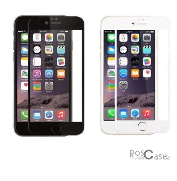 Защитное стекло ROCK Perfect Full Tempered (2.5D) 0.3 mm Glass для Apple iPhone 6/6s plus (5.5)Описание:Производитель - компания&amp;nbsp;Rock;Совместимость: Apple iPhone 6/6s plus (5.5);Материал: закаленное стекло;Форма: защитное стекло.Особенности:Исключается появление царапин и возникновение потертостей;Гарантировано исключительное взаимодействие с сенсорной клавиатурой дисплея;Плотность - 9H;Толщина - 0,3 мм;Отсутствие отпечатков;Не подвержено деформации;Полностью закрывает экран.<br><br>Тип: Защитное стекло<br>Бренд: ROCK