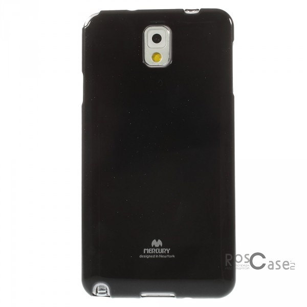 фото Черный TPU чехол Mercury Jelly Color series для Samsung N9000/N9002 Galaxy Note 3