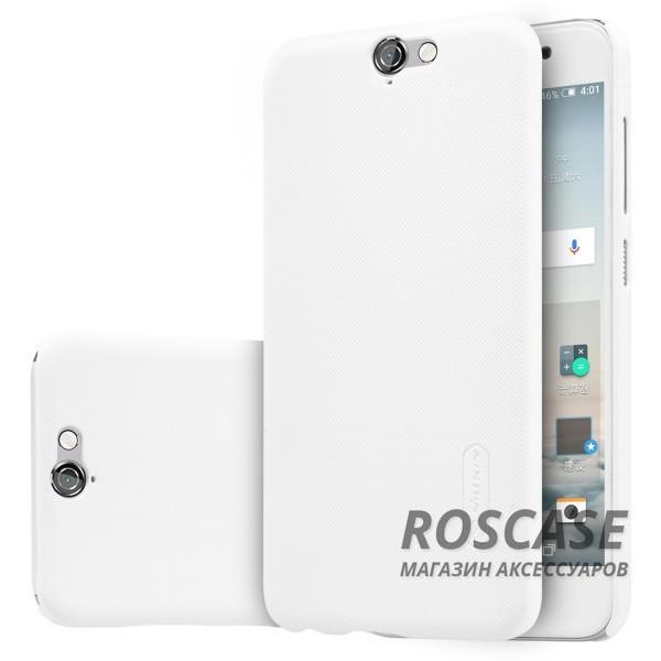Чехол Nillkin Matte для HTC One / A9 (+ пленка) (Белый)Описание:производитель - компания&amp;nbsp;Nillkin;материал - поликарбонат;совместим с HTC One / A9;тип - накладка.&amp;nbsp;Особенности:матовый;прочный;тонкий дизайн;не скользит в руках;не выцветает;пленка в комплекте.<br><br>Тип: Чехол<br>Бренд: Nillkin<br>Материал: Поликарбонат