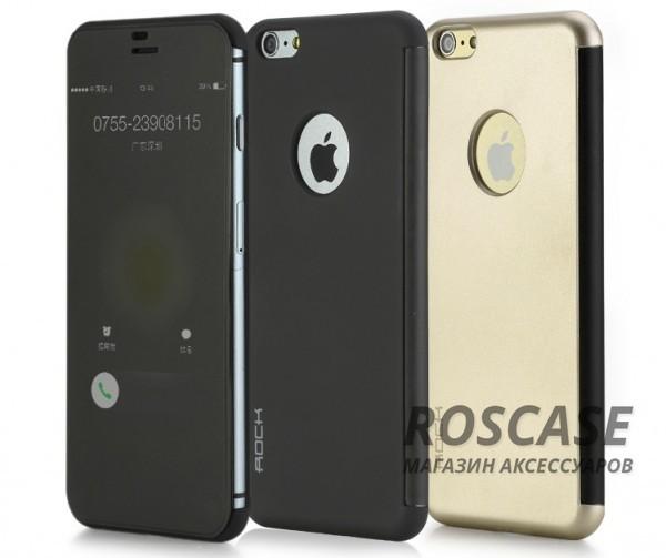 Чехол (книжка) Rock DR.V Series для Apple iPhone 6/6s plus (5.5)Описание:производитель  -  компания&amp;nbsp;Rock;разработан для Apple iPhone 6/6s plus (5.5);материалы  -  поликарбонат, полиуретан;форма  -  чехол-книжка.&amp;nbsp;Особенности:функция Smart window;декоративная фактура;имеются все функциональные разъемы;на нем не видны &amp;laquo;пальчики&amp;raquo;;защита от ударов и царапин.<br><br>Тип: Чехол<br>Бренд: ROCK<br>Материал: Искусственная кожа