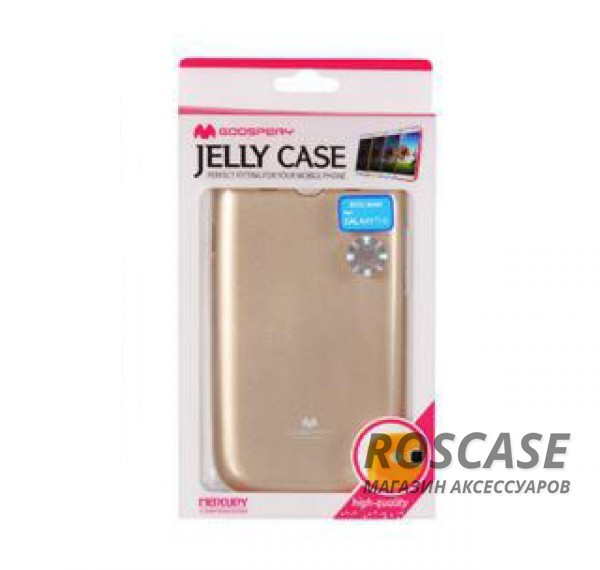 фото Золотой TPU чехол Mercury Jelly Color series для Samsung i9300 Galaxy S3