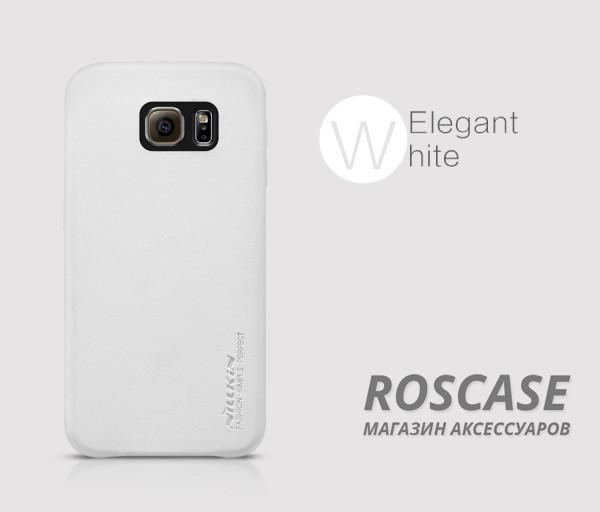 Чехол накладка Nillkin Victoria Series для Samsung Galaxy S6 G920F/G920D Duos (Белый)Описание:производитель  -  фирма&amp;nbsp;Nillkin;разработан специально для Samsung Galaxy S6 G920F/G920D Duos;материал  -  искусственная кожа;тип  -  накладка.&amp;nbsp;Особенности:мягкая на ощупь;все функциональные вырезы на своих местах;не остаются отпечатки пальцев;тонкий дизайн;защищает от царапин и падений;не скользит.<br><br>Тип: Чехол<br>Бренд: Nillkin<br>Материал: Искусственная кожа