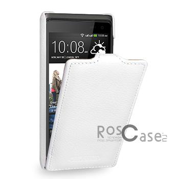 Кожаный чехол (флип) TETDED для HTC Desire 600 (Белый / White)Описание:компания-производитель  -  TETDED;совместимость  -  смартфон HTC Desire 600;материал изготовления  -  кожа;форм-фактор  -  флип, открывающийся вниз;Особенности:чехол изготовлен вручную;отличается высоким уровнем прочности;имеет сверхтонкий дизайн в классическом стиле;плотно облегает девайс, что исключает вероятность его выпадения;представлен широкой палитрой цветов.<br><br>Тип: Чехол<br>Бренд: TETDED<br>Материал: Натуральная кожа