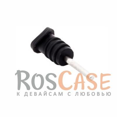 Заглушки microUSB+3.5мм аудио порта (Черный скругленный)Описание:бренд&amp;nbsp;Epik;материал - силикон;тип&amp;nbsp; - &amp;nbsp;заглушка;совместимость - универсальная.Особенности:закрывают разъемы;универсальная совместимость;можно урезать;надежно фиксируются.<br><br>Тип: Общие аксессуары<br>Бренд: Epik