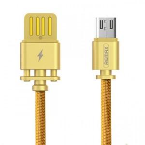Remax Dominator RC-064m | Дата кабель с функцией быстрой зарядки в тканевой оплетке USB to MicroUSB (100см)