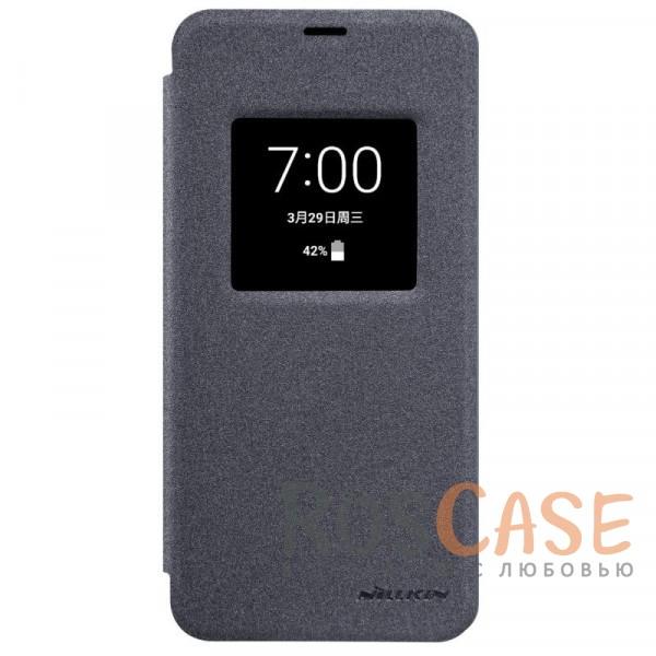 Защитный чехол-книжка с окошком для экрана и функцией сна (Sleep mode) для LG G6 / G6 Plus H870 / H870DS (Черный)Описание:бренд&amp;nbsp;Nillkin;спроектирован для LG G6 / G6 Plus H870 / H870DS;материалы: поликарбонат, искусственная кожа;блестящая поверхность;не скользит в руках;функция Sleep mode;окошко в обложке;предусмотрены все необходимые вырезы;защита со всех сторон;тип: чехол-книжка.<br><br>Тип: Чехол<br>Бренд: Nillkin<br>Материал: Искусственная кожа
