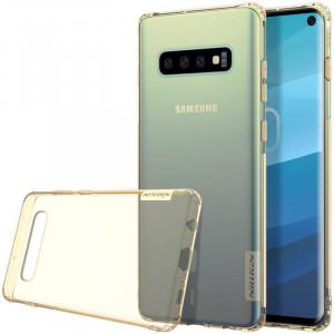 Nillkin Nature   Прозрачный силиконовый чехол для Samsung Galaxy S10 Plus