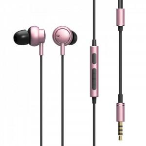 Вакуумные наушники ROCK Mubow stereo с металлическим корпусом и пультом управления (120 см) для Samsung Galaxy S7 (G930F)