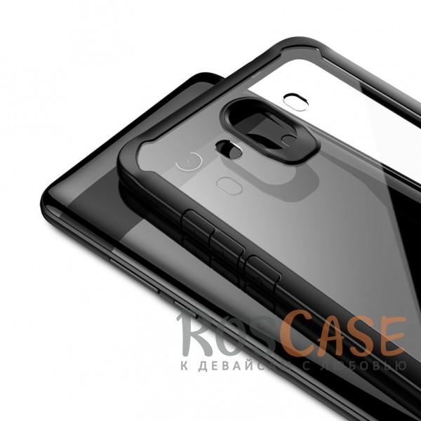 Изображение Черный iPaky Luckcool | Чехол для Huawei Mate 10 с цветными силиконовыми вставками