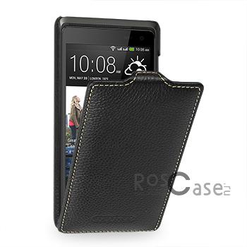 Кожаный чехол (флип) TETDED для HTC Desire 600 (Черный / Black)Описание:компания-производитель  -  TETDED;совместимость  -  смартфон HTC Desire 600;материал изготовления  -  кожа;форм-фактор  -  флип, открывающийся вниз;Особенности:чехол изготовлен вручную;отличается высоким уровнем прочности;имеет сверхтонкий дизайн в классическом стиле;плотно облегает девайс, что исключает вероятность его выпадения;представлен широкой палитрой цветов.<br><br>Тип: Чехол<br>Бренд: TETDED<br>Материал: Натуральная кожа