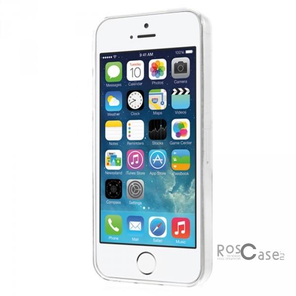 """Изображение #TPU чехол Print """"Городской Трамвай"""" для Apple iPhone 5/5S"""