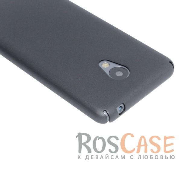 Фото Черный Joyroom | Матовый soft-touch чехол для Meizu M3 / M3 mini / M3s с защитой торцов