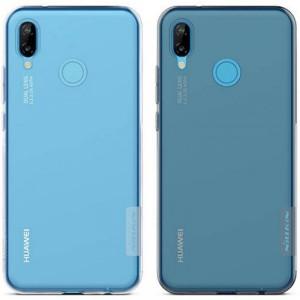 Nillkin Nature | Прозрачный силиконовый чехол для Huawei P20 Lite