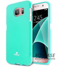 фотография Бирюзовый TPU чехол Mercury Jelly Color series для Samsung G930F Galaxy S7